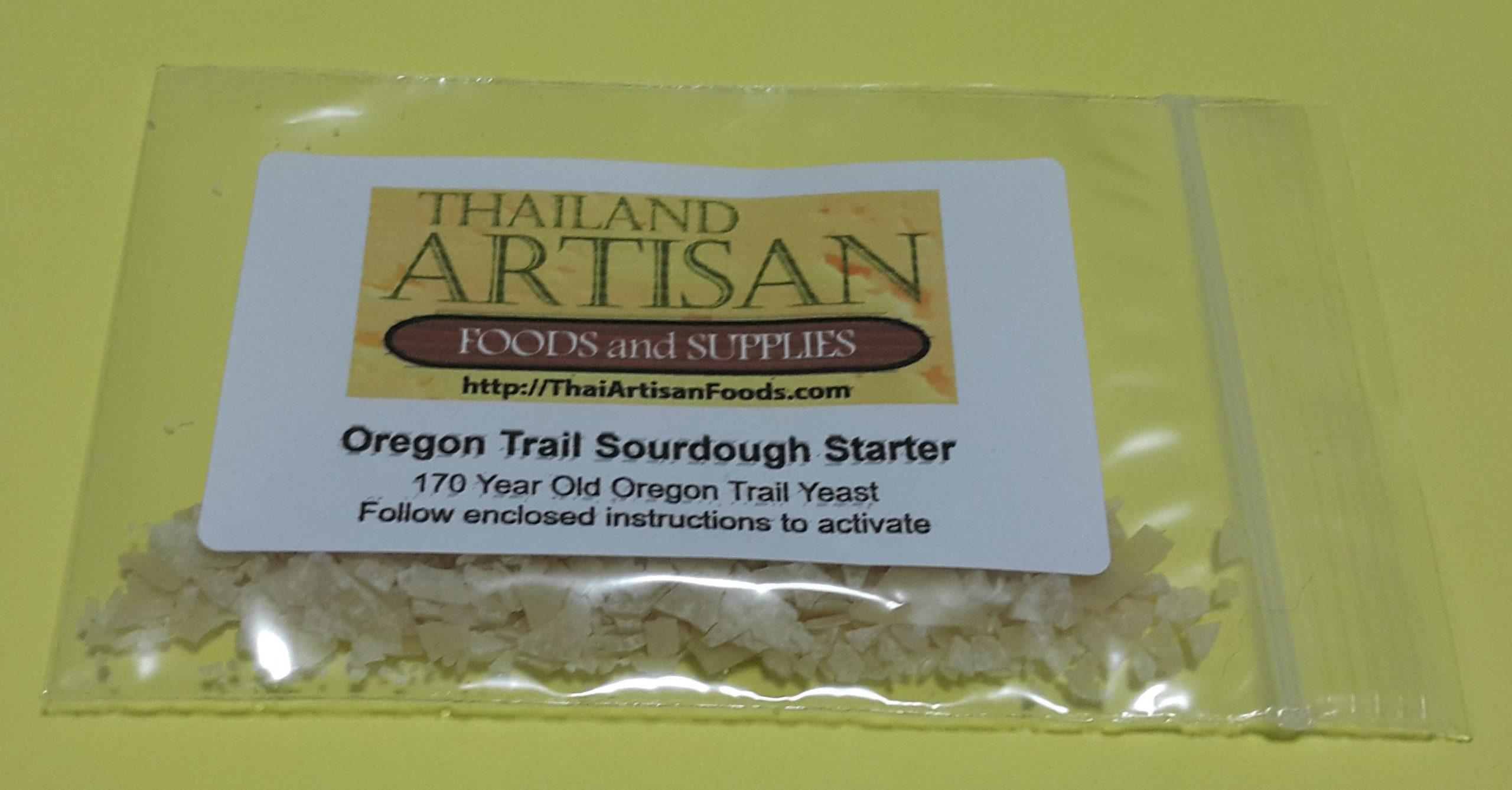 Oregon Trail Sourdough Starter