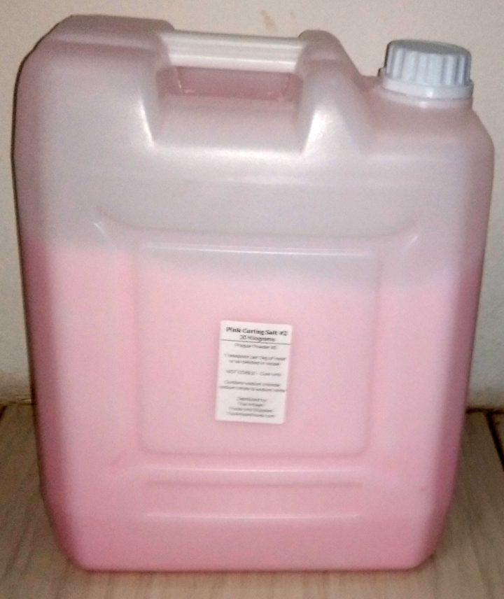 Pink Curing Salt 20Kilo