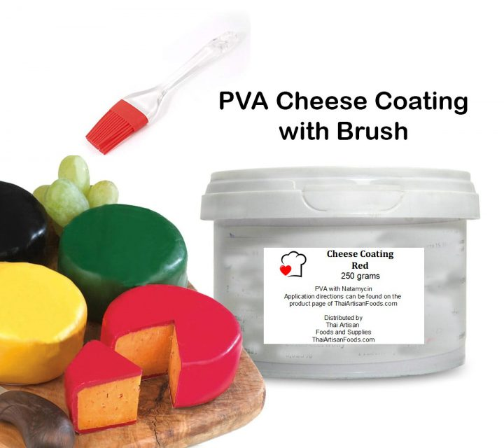 PVA Cheese Coating with Brush