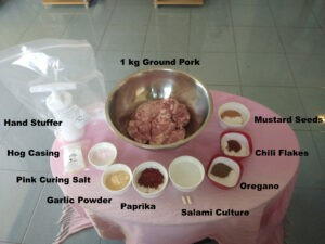 Salami Ingredients